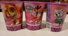 American Greetings Paw Patrol Party Supplies, 16 oz Reusable 3 Plastic Cups pink