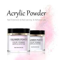 BORN PRETTY Pink White Clear Acrylic Powder Tip Extension Nail Polymer Powder