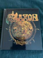 "SAXON - ""SACRIFICE""  (RARE 2012 DELUXE EDITION 2 CD DIGIBOOK W/ BONUS TRACKS)"