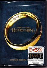 Lord of the Rings: RETURN OF THE KING (2 Disc Extended Edition DVD - WS) NEW!
