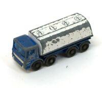 Vintage Matchbox 32 Leyland Petrol Tanker Blue Aral J512
