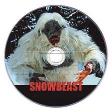 Snowbeast (1977) Horror, TV Movie on DVD