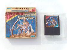 Sega Master System Mark III 3 japanische Spiel Phantasy Star 1987 Card Box OVP PS