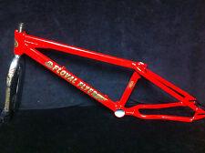 RARE Restored Red SE FLOVAL FLYER FRAME & LANDING GEAR FORKS Old School BMX Set