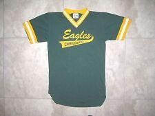 Vintage LEA CHeerleading CHeer Baseball Uniform Green Jersey Shirt USED SMALL S
