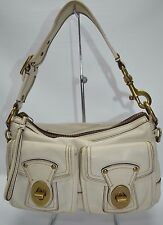 Coach Legacy Vachetta 65th Anniversary Satchel Zip Pocket Bag 10328 In White