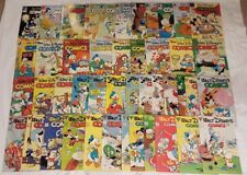 Walt Disney Comics and Stories #511-566 Gladstone Lot of 45 Avg F+