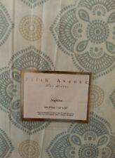 Fifth Avenue  Fine Linens  Dinner Napkins  Set of 4    20×20 NWT