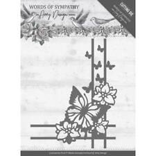 Amy Design Stanzschablone  Words of Sympathy - Sympathy Corner Schmetterlinge
