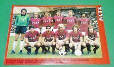 RARE CLIPPING FOOTBALL 1977 1978 FC METZ SAINT-SYMPHORIEN GRENATS LORRAINE