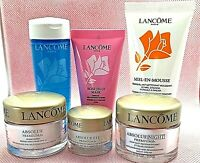 LANCOME Absolue NIGHT Eye DAY spf15 Cream .5 .2 1.7 OZ MASK Toner CLEANSER *NEW*