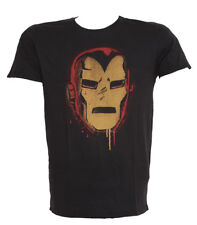 Iron Man Color Stencil T-Shirt