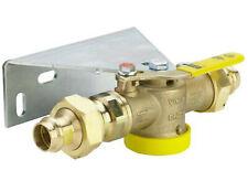 Viega Gas Einrohrzähler Gaszähler Kugelhahn DN 25 x 22 mm Anschlussset