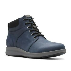 UN ADORN WALK LADIES UNSTRUCTURED CLARKS WATERPROOF CASUAL LACE UP BOOTS SIZE