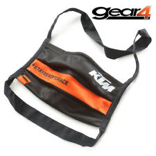 KTM CORPORATE FACE MASK WASHABLE BLACK / ORANGE MOTORCYCLE 3PW200040100