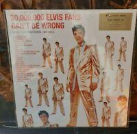 Elvis Presley Vinyl  -Elvis gold records vol.2 -50'000 Elvis fans can't be wrong