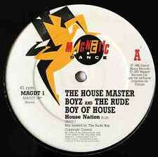 "HOUSE MASTER BOYZ AND THE RUDE BOY OF HOUSE - House Nation (12"") (G+/NM)"
