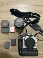 Camera Canon EOS Digital Rebel XTi with Canon Lens EFS 18-55mm and Battery Grip