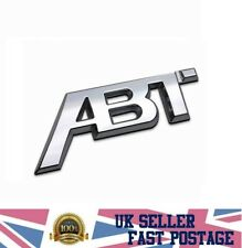 New ABT emblem badge 3D chrome abs sticker vw Golf 5 6 7 MK6 MK7 Polo decal