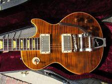 Gibson Custom Shop - Joe Perry Signature Boneyard Les Paul - Green Tiger Bigsby