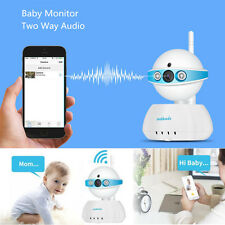 720P wifi Video Baby Monitor Wireless IP Camera P/T Security Night Vision Webcam