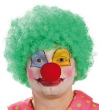 Parrucca clown verde economica