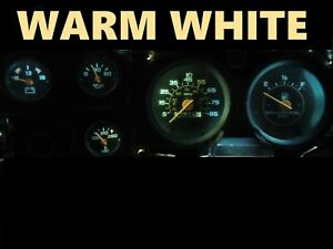 Gauge Cluster LED Dashboard Bulbs Warm White For Chevy 73-87 C10 C20 C30 Truck