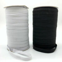3mm DIY Stretch Flat Elastic Waist Band Cord For Woven Sewing Dressmaking Crafts