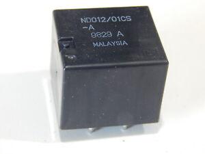Fujitsu ND012/01CS-A 12V PCB Automotive Relay PC MOUNT