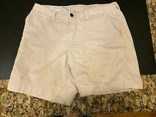"Billy Reid Men's light tan khaki chino shorts 34 waist  ~6"" inseam made in USA"