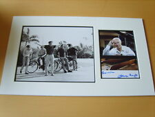 George Martin The Beatles Genuine Autograph - UACC / AFTAL.