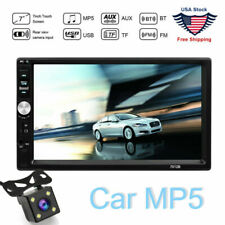Car Video MP5 Player 2 Din  Touchscreen FM Bluetooth Radio Audio Stereo Camera