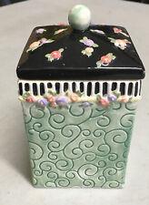 "Vintage Mary Engelbreit 5 3/4"" Canister Jar 1999 Michel & Co"