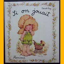 SI ON JOUAIT Sarah Kay Éditions Hemma 1978