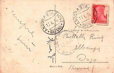 CARTOLINA DEL 1936 DA BASTIA PER ONZO SAVONA   C8-558