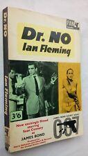 JAMES BOND 007 DR.NO IAN FLEMING 1ST/10 SB 1963 PAN FILM-TIE S CONNERY U ANDRESS