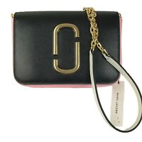 New/tag~$350. Marc Jacobs Hip Shot Bag.Belt Bag.Crossbody bag Black/White/Pink