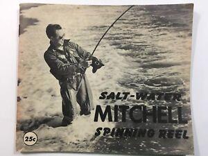 Mitchell Salt-Water Spinning Reel -Garcia Corp-Vintage BOOKLET