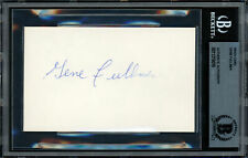 Gene Fullmer Authentic Autographed Signed 3x5 Index Card Beckett 11319016