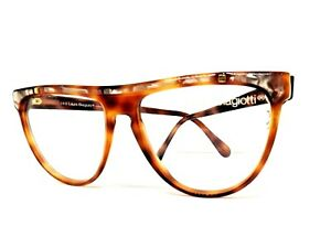 LAURA BIAGIOTTI Frames Glasses Women's Vintage Brown Ages 80 Italy