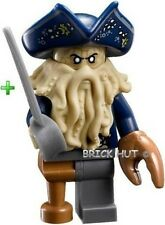LEGO PIRATES OF THE CARIBBEAN - DAVY JONES FIGURE + FREE SWORD - BESTPRICE - NEW