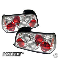 1992-1998 BMW E36 3 SERIES 2DR ALTEZZA TAIL LIGHT BAR LAMPS LIGHTBAR CHROME