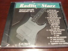 RADIO STARZ CD+G KARAOKE BEATLES VOL 3 RSZ-623 SEALED 21 TRACKS
