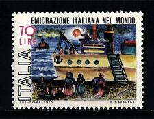 ITALIA REP. - 1975 - Emigrazione italiana nel mondo.