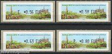 France ATM LISA 1 Phil'Amiens de 2013 Lot de 4 valeurs neuves **