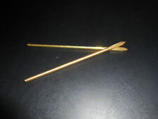"(2)  Super Jumbo Perma lok Leather Threading Needle 1/8th"" to 1/4th"" #1193-05."