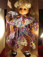 Lissi Puppen Doll marked # 126 on neck, 18 inches tall[a*4]