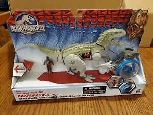 Jurassic World Hasbro - Indominus Rex VS Gyrosphere - Brand New Unopened