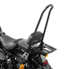 Sissy Bar rimovibile+portapacchi CSXL per Harley Davidson Sportster 04-20 nero