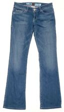 Peoples Liberation Womens Jeans Size 25 Bootcut Blue Light Wash Denim Stretch